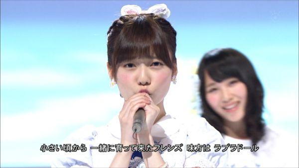 AKB48 MUSIC FAIR ラブラドール・レトリバー 島崎遥香 (6)_R