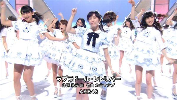 AKB48 MUSIC FAIR ラブラドール・レトリバー 渡辺麻友 (4)_R