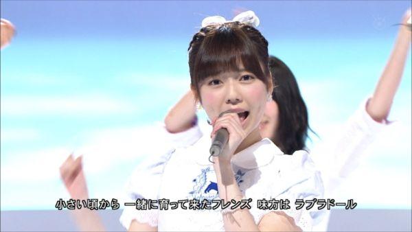 AKB48 MUSIC FAIR ラブラドール・レトリバー 島崎遥香 (5)_R