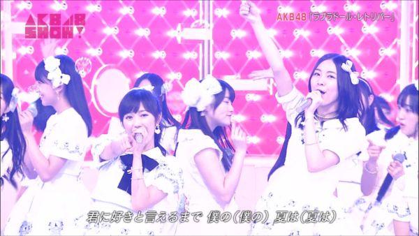 AKB48SHOW! 36人ラブラドール・レトリバー 渡辺麻友 (7)_R