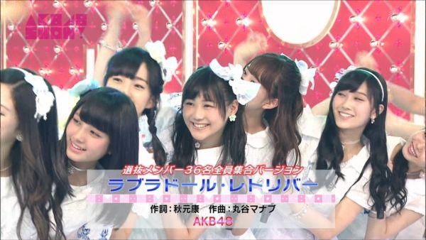 AKB48SHOW! 36人ラブラドール・レトリバー 西野未姫ちゃん!_R