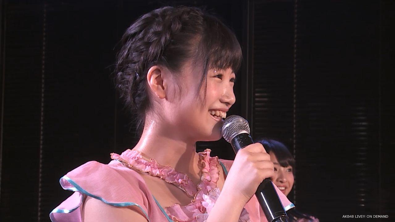 朝長美桜 チームB 自己紹介MC 20140621夜 (3)