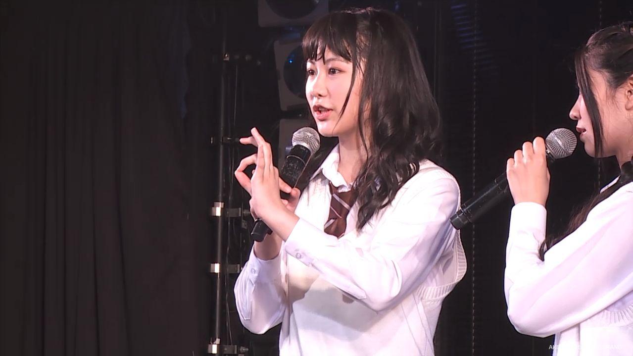 AKB横島亜衿 劇場公演MC 20140621 (2)