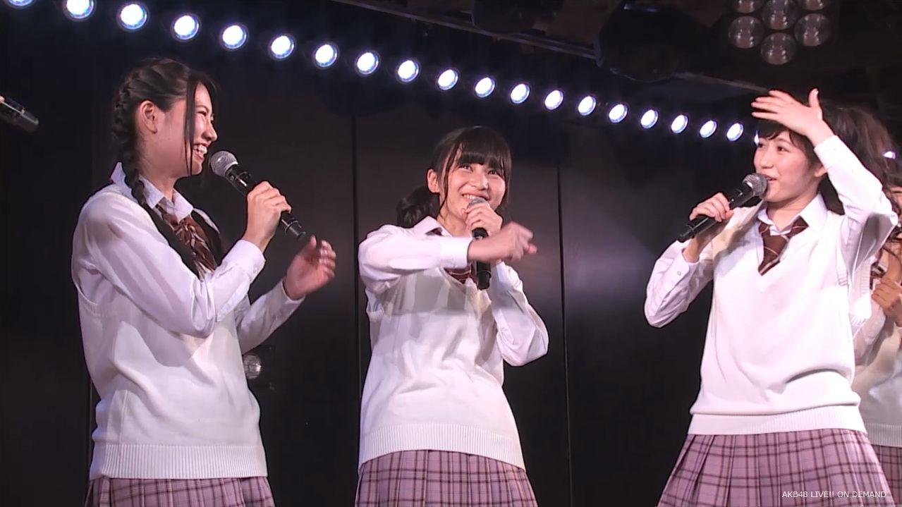 AKB横島亜衿 劇場公演MC  20140621 (14)
