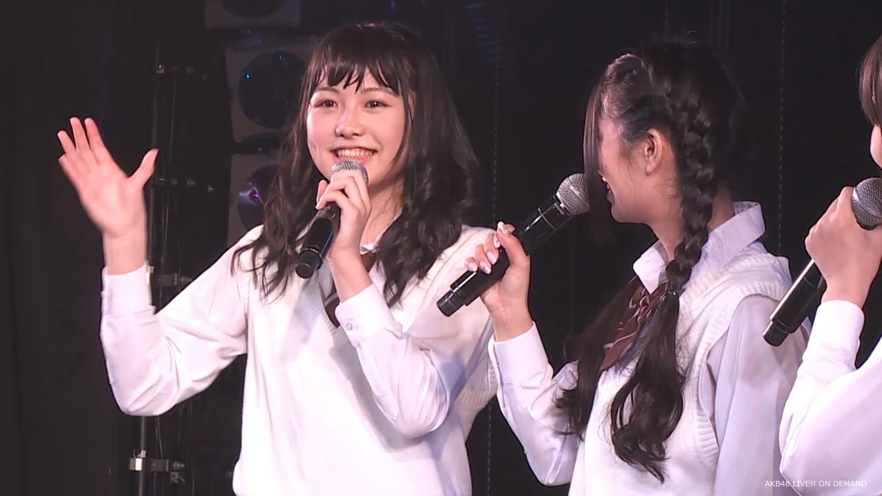 AKB横島亜衿  劇場公演MC   20140621 (16)