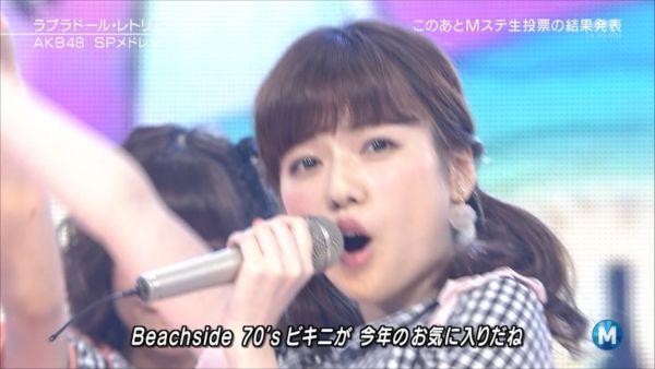 AKB48島崎遥香 MステSP 20140627 (2)_R