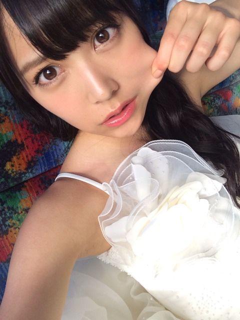 白間美瑠 イビサガール ウエディングドレスR (2)