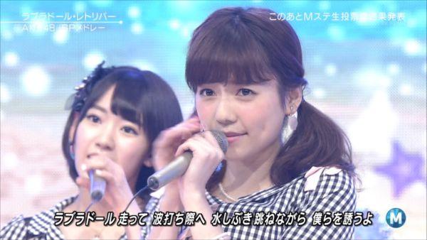 AKB48島崎遥香 MステSP 20140627 (5)_R