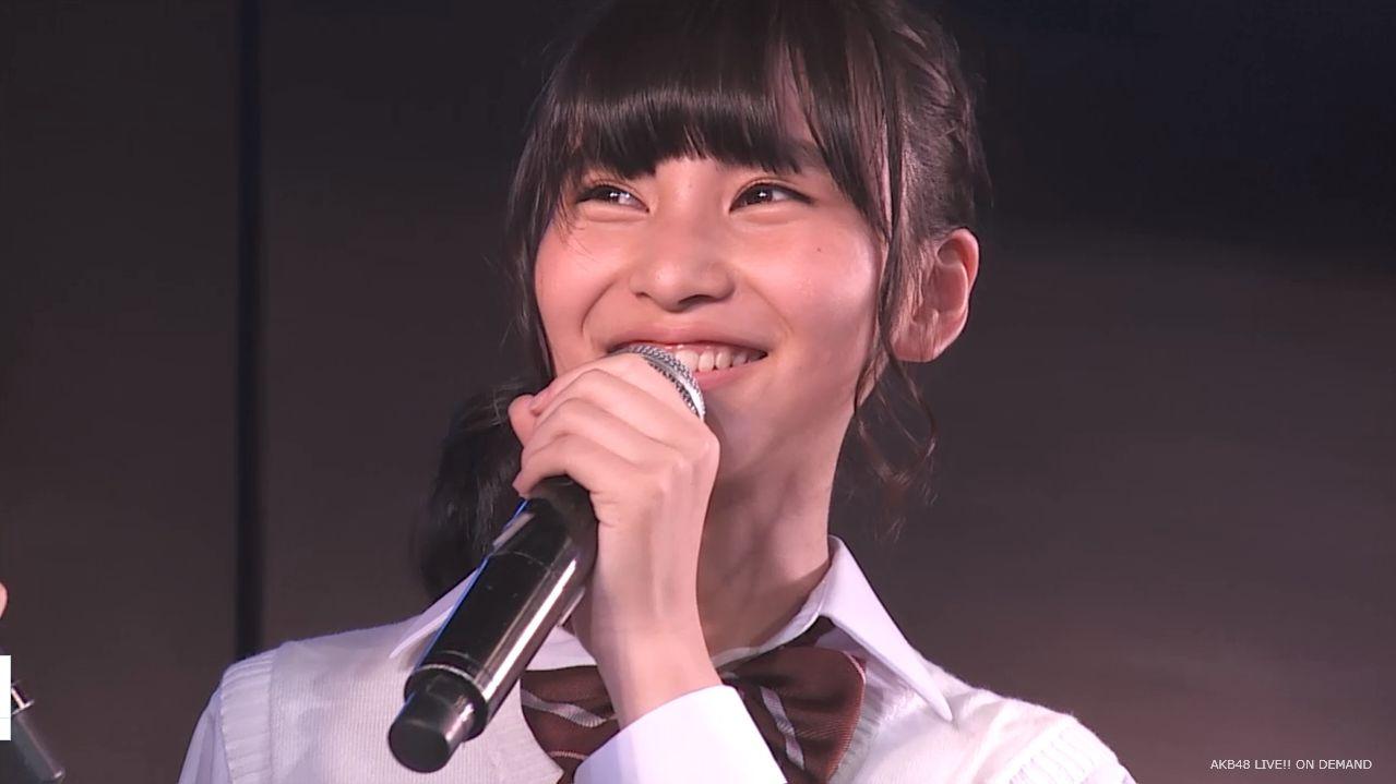 AKB横島亜衿 劇場公演MC 20140621 (12)
