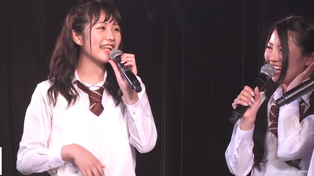 AKB横島亜衿 劇場公演MC 20140621 (13)