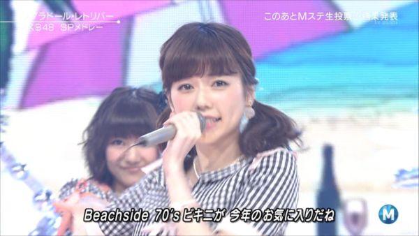 AKB48島崎遥香 MステSP 20140627 (3)_R
