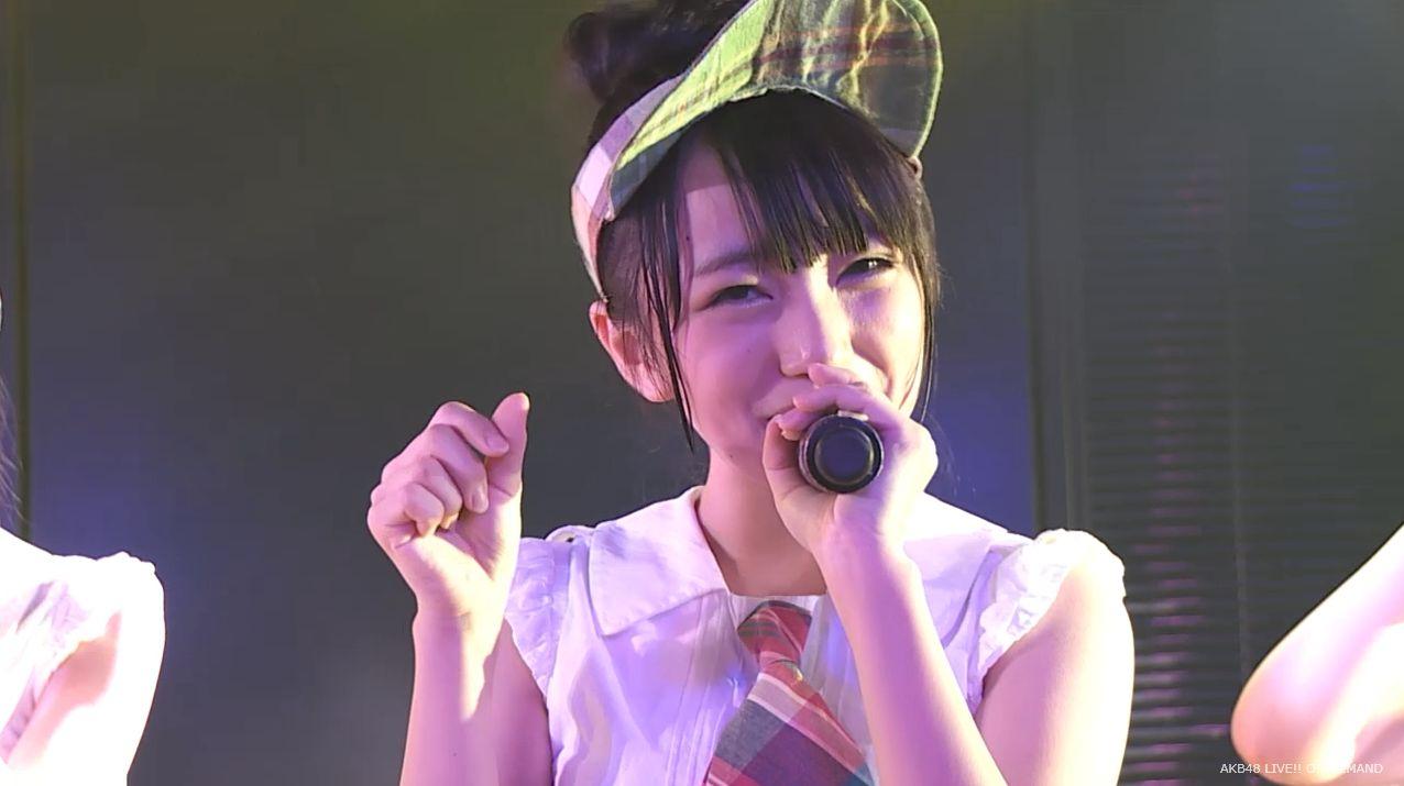 AKB48向井地美音 たんぽぽの決心 20140626