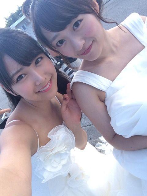 白間美瑠 イビサガール ウエディングドレスR (1)