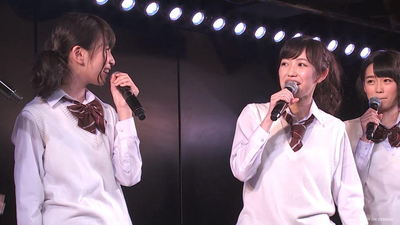 AKB横島亜衿 劇場公演MC   20140621 (15)