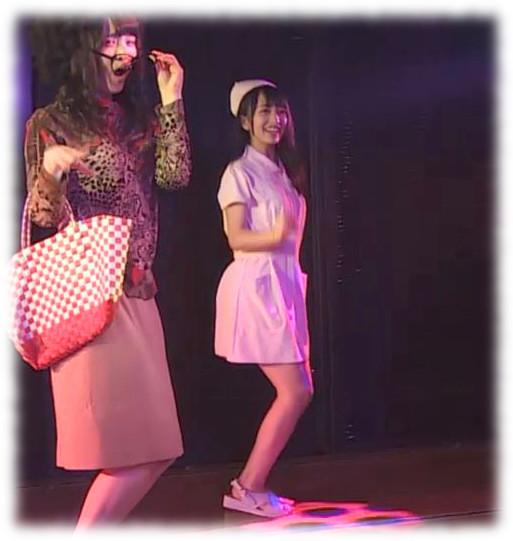 向井地美音 天国野郎  ナース (4)