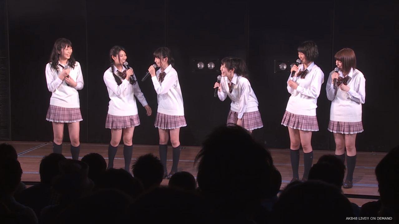 AKB横島亜衿 劇場公演MC   20140621 (17)