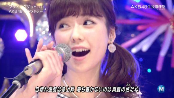AKB48島崎遥香 MステSP 20140627 (7)_R