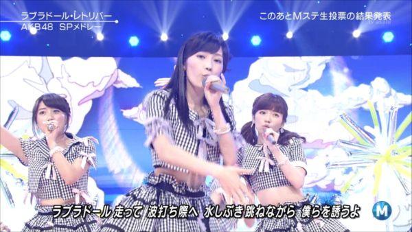 AKB48島崎遥香 MステSP 20140627 (4)_R