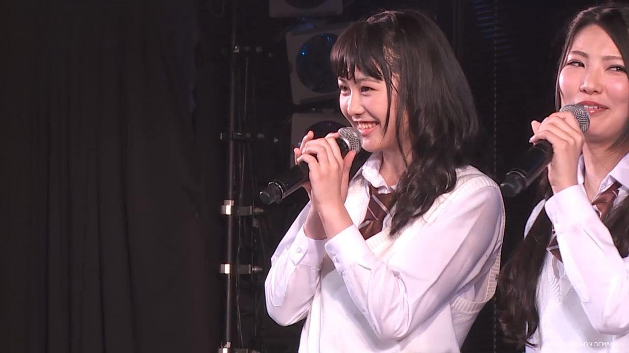 AKB横島亜衿 劇場公演MC 20140621 (7)