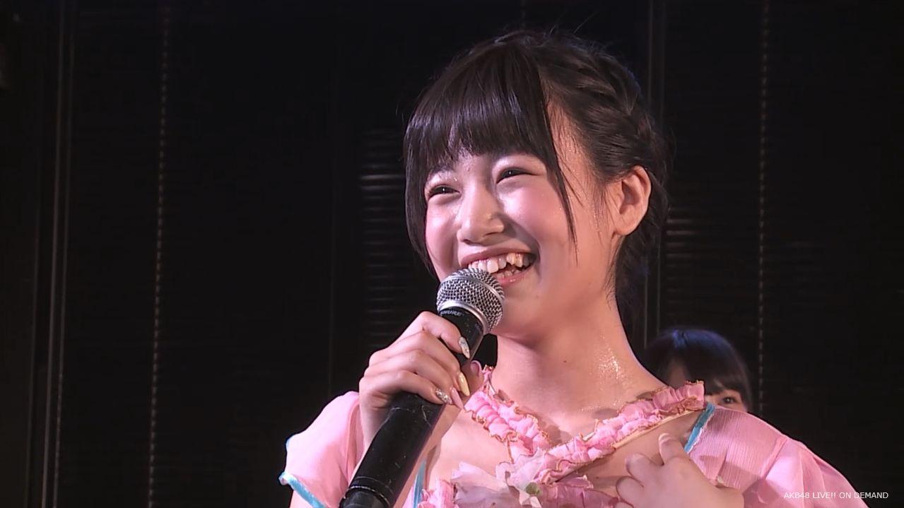 朝長美桜 チームB 自己紹介MC 20140621夜 (1)