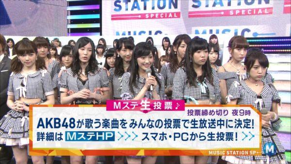 AKB48島崎遥香 MステSP 20140627_R