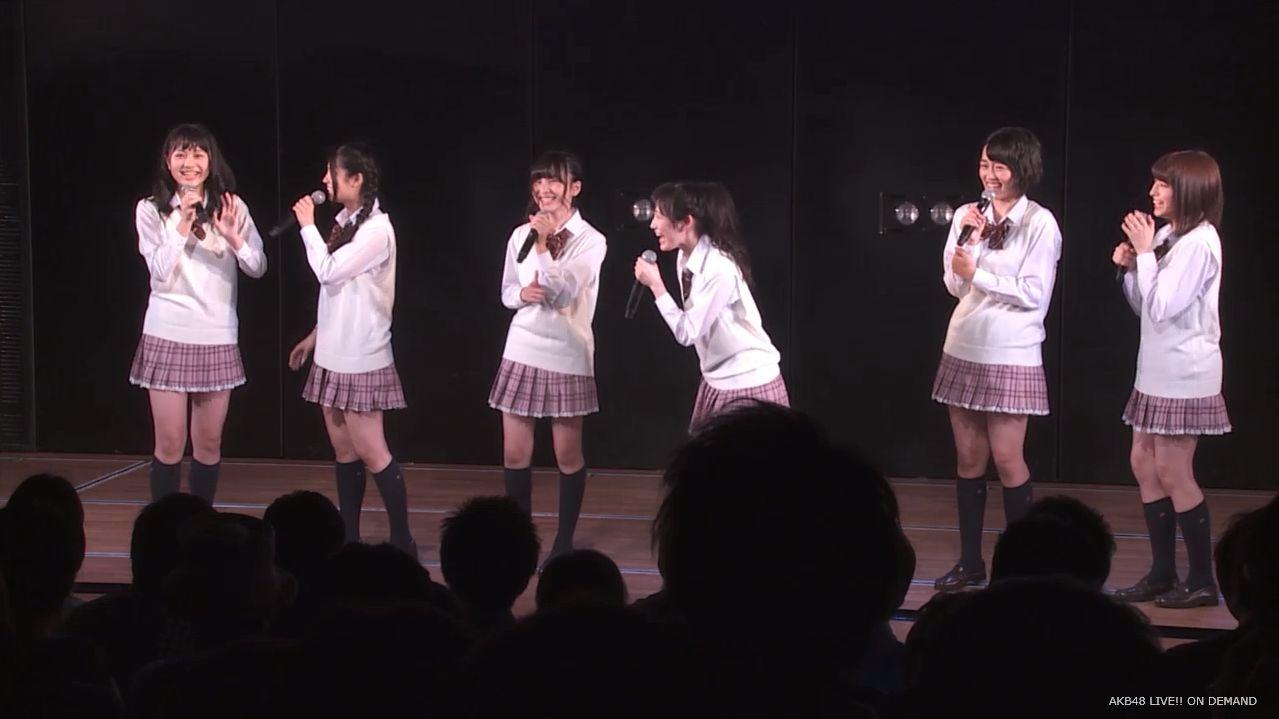 AKB横島亜衿 劇場公演MC 20140621 (5)