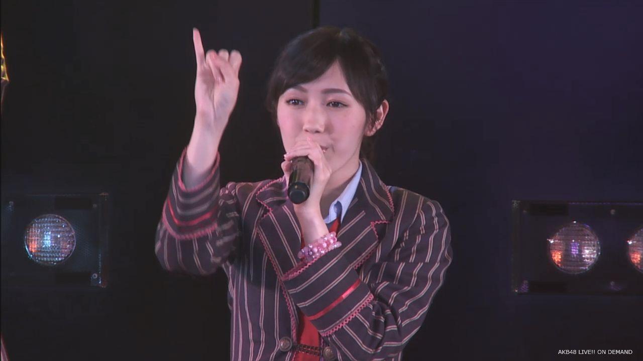 劇場公演 まゆゆ 20140613