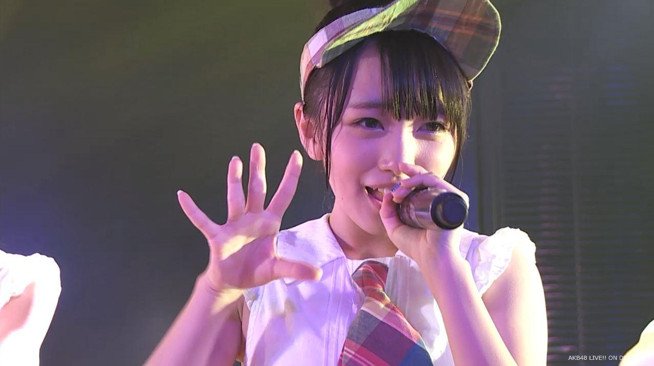 AKB48向井地美音 たんぽぽの決心 20140626 (1)