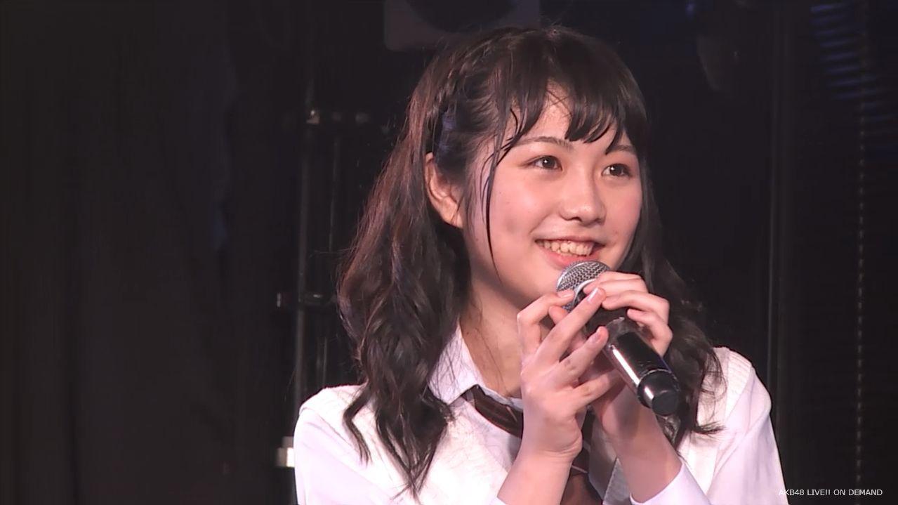 AKB横島亜衿 劇場公演MC 20140621 (11)