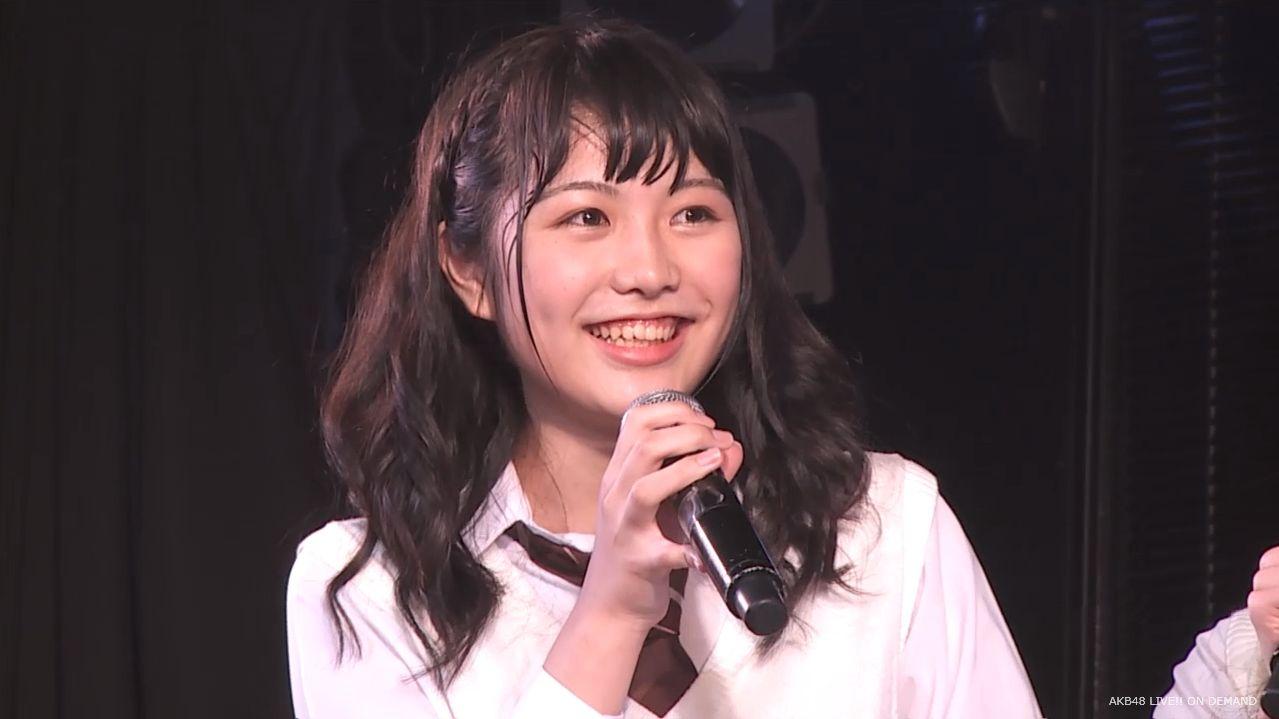 AKB横島亜衿 劇場公演MC 20140621 (9)