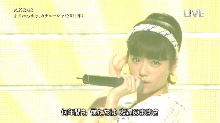 AKB48 島崎遥香 THE MUSIC DAY 音楽のちから 20140712 (3)_R