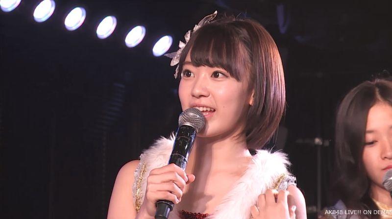 ストレート宮脇咲良 MC 最近ハマってること AKB48チームA公演 20140730 (2)