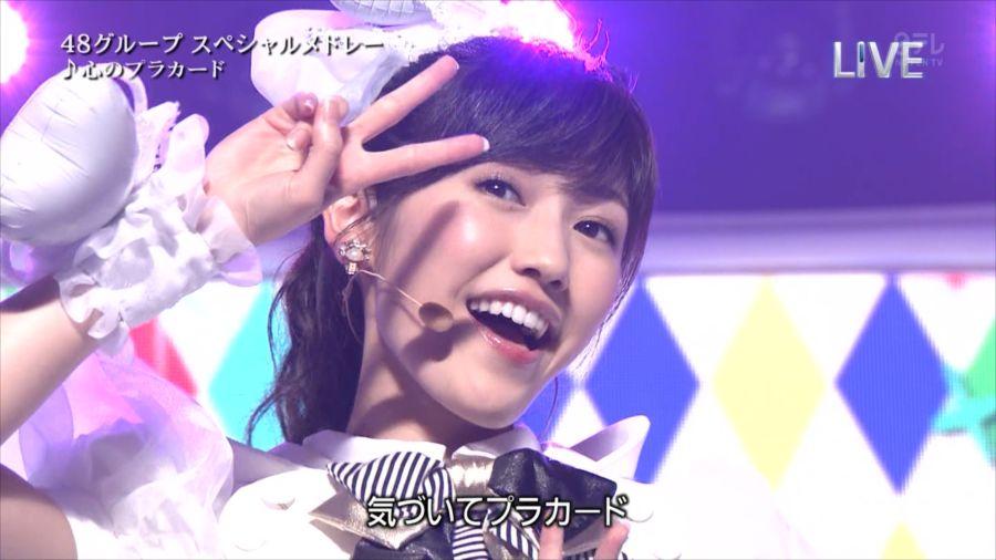 AKB48 渡辺麻友 THE MUSIC DAY 音楽のちから 20140712 (102)_R