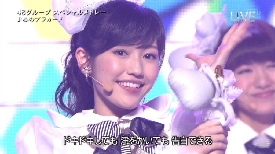 AKB48 渡辺麻友 THE MUSIC DAY 音楽のちから 20140712 (92)_R