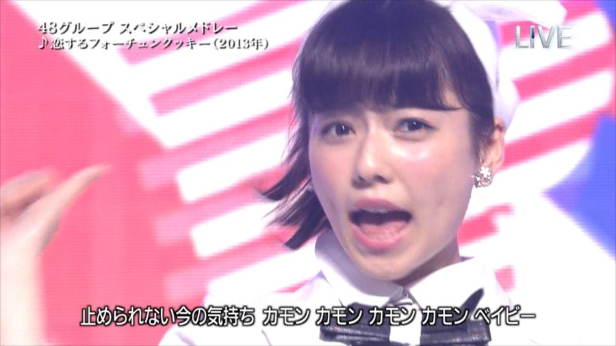 AKB48 島崎遥香 THE MUSIC DAY 音楽のちから 20140712 (32)_R