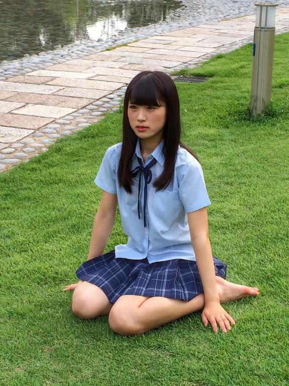 渋谷凪咲 月刊ENTAME9月 オフショット (2)