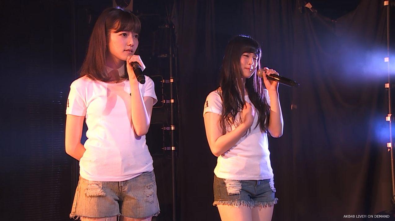 島崎遥香 あの頃のスニーカー チームA劇場公演 20140714