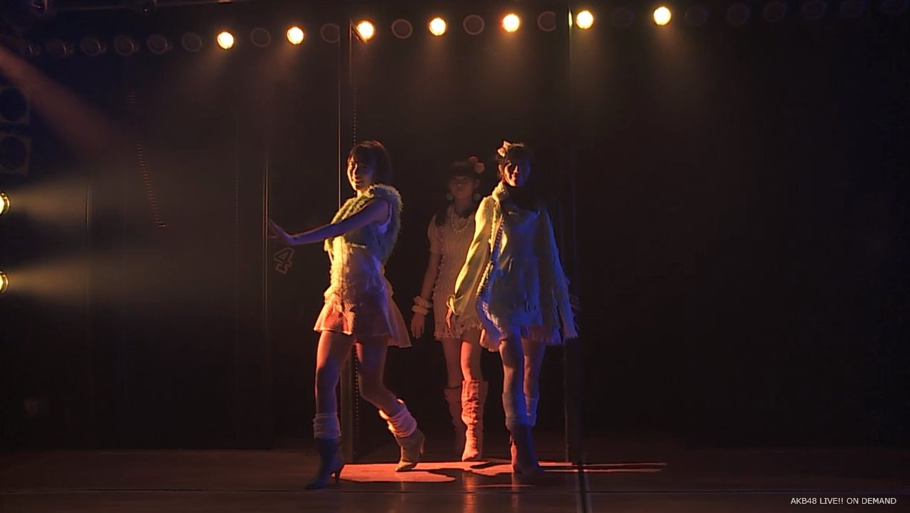 ストレート宮脇咲良 ハート型ウィルス AKB48チームA公演 20140730 (1)