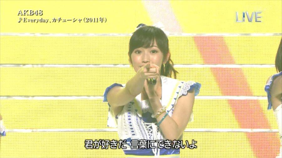 AKB48 渡辺麻友 THE MUSIC DAY 音楽のちから 20140712 (23)_R