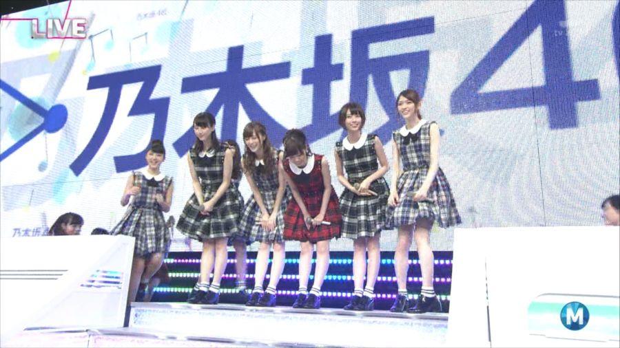 乃木坂46 ミュージックステーション 白石麻衣 20140711 (1)_R