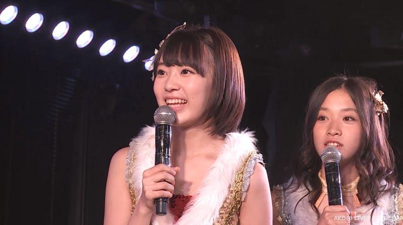ストレート宮脇咲良 MC 最近ハマってること AKB48チームA公演 20140730 (7)