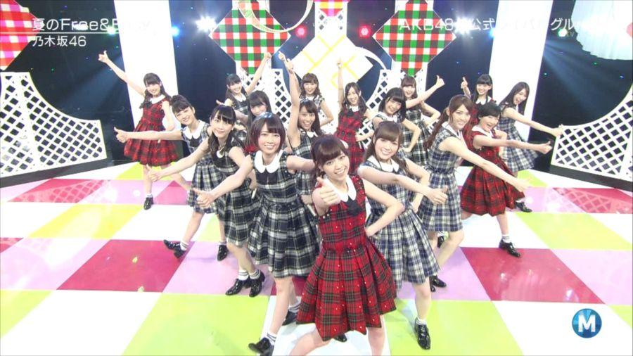乃木坂46 ミュージックステーション 白石麻衣 20140711 (17)_R