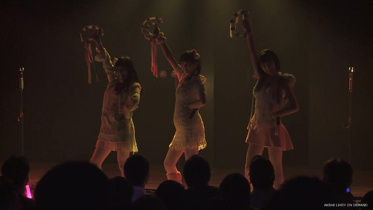 ストレート宮脇咲良 ハート型ウィルス AKB48チームA公演 20140730 (26)