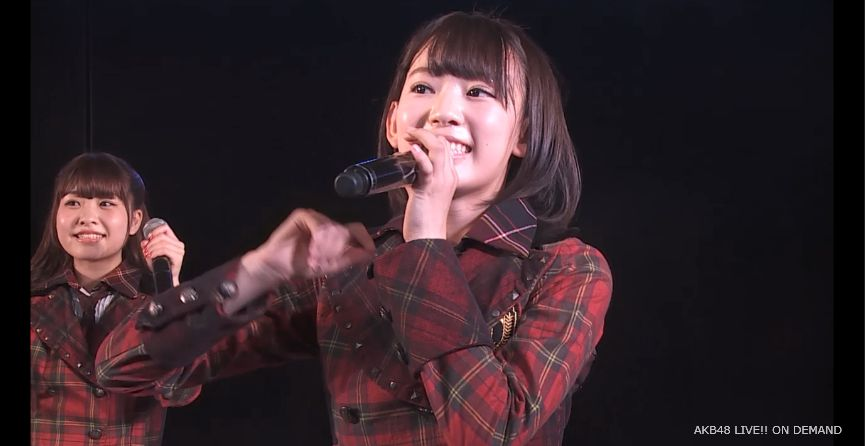 ストレート宮脇咲良 MC 自己紹介 AKB48チームA公演 20140730 (2)
