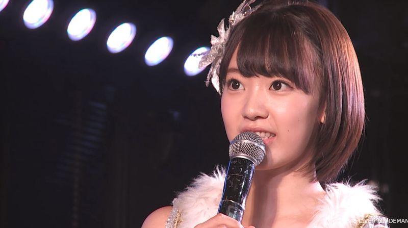 ストレート宮脇咲良 MC 最近ハマってること AKB48チームA公演 20140730 (10)