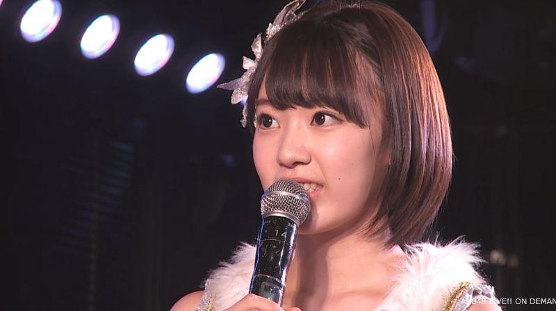 ストレート宮脇咲良 MC 最近ハマってること AKB48チームA公演 20140730 (9)