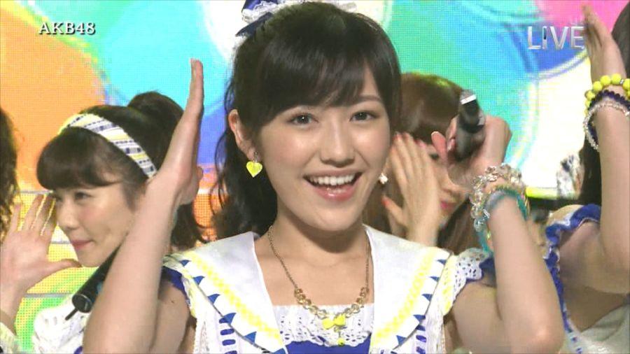 AKB48 渡辺麻友 THE MUSIC DAY 音楽のちから 20140712 (21)_R