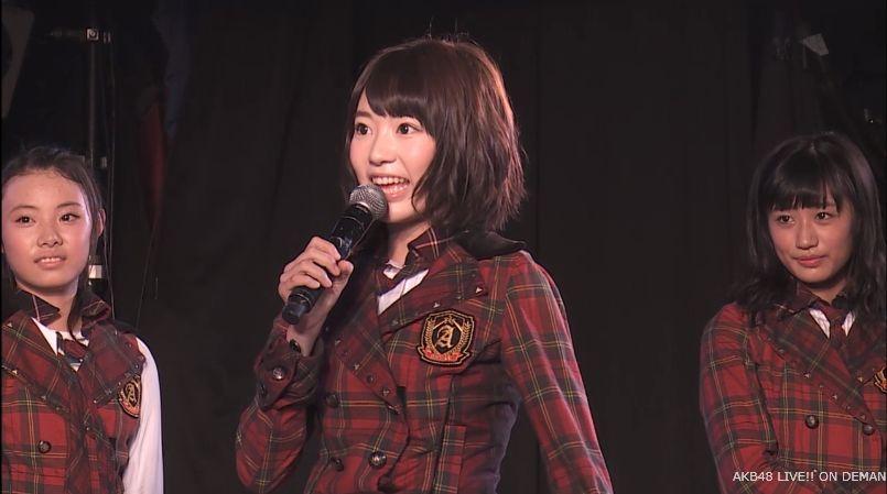 宮脇咲良 MC チームA公演 20140714 (2)