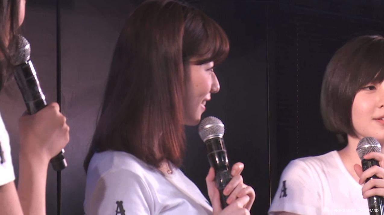 島崎遥香 MC チームA劇場公演 20140714 (10)