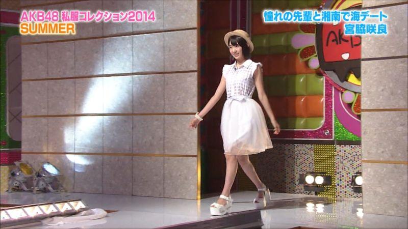AKBINGO 私服コレクション2014夏 宮脇咲良 20140709 (2)_R